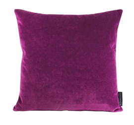 "Kussen Velours ""Warm Purple 9416""  45x45"