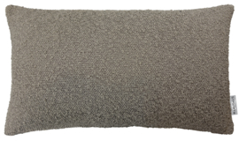 297 Kussen Boucle Taupe 50x30