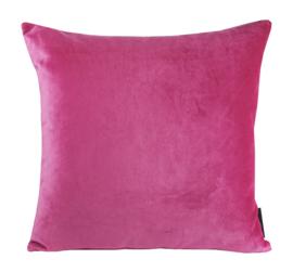 "167 Kussen Velours ""Hot Pink""  45x45"