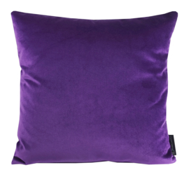 "Kussen Velours ""Cold Purple 9611""  45x45"