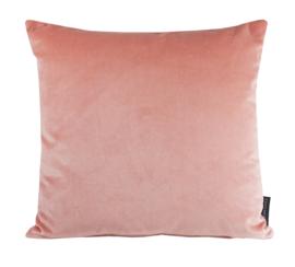 """191 Kussen Velours """"Peach Pink 2231""""  45x45"""