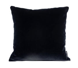 """074 Kussen Velours """"Black 0802"""" 60x60 cm"""