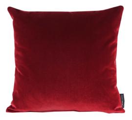091 Kussen Velours Wine Red 3247 45x45 cm