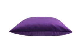 "165 Kussen Velours ""Cold Purple 9611""  45x45"