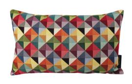 187 Lendekussen Multi Color Triangle 30x50