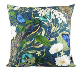 216 Kussen Peacock Butterfly Chique 60x60