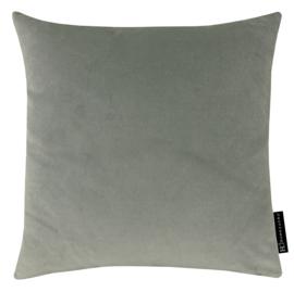 391 Kussen velours light grey 0351 60x60