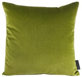 389 Kussen velours grass green 7270 45x45