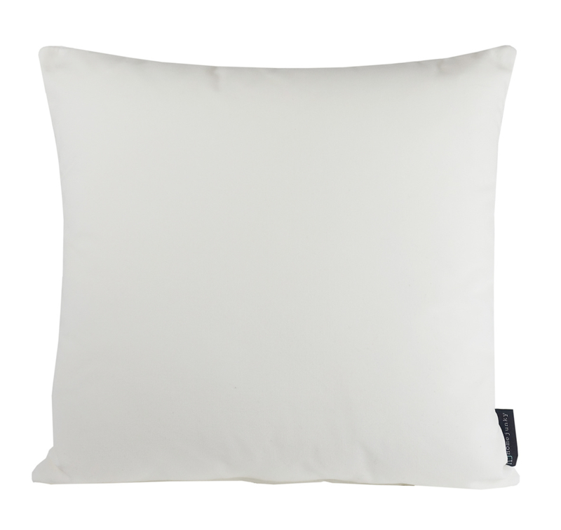 "195 Kussen Velours ""Warm White 0013""  45x45"