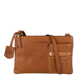 Burkely Craft Caily Crossover M Cognac