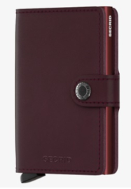 Secrid Miniwallet Original Bordeaux