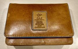 Gaz Portemonnee 11cc RFID Cognac