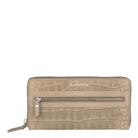 Burkely Wallet Croco Cody L Grey