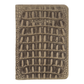 Burkely Paspoort/Documenten Cover Taupe