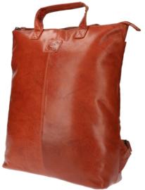 LD Leather Design Rugtas S Cognac