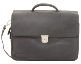 "Plevier  Werktas Oxford 15.6"" Black"