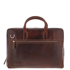 "Plevier Werktas 15.6""  London Dark Brown"