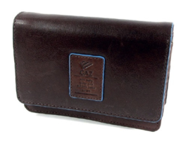 Gaz Portemonnee 11cc RFID Donkerbruin