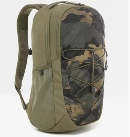 """The North Face Rugtas Jester 15""""  Burnt Olive Green Woods Camo Print\Burnt Olive Green"""