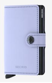 Secrid Miniwallet Matte Lilac&Black