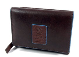 Gaz Portemonnee 7cc RFID Donkerbruin