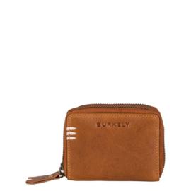 Burkely Portemonnee Craft Caily Double Zip Cognac