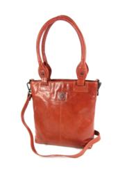 LD Leather Design Shopper Cognac