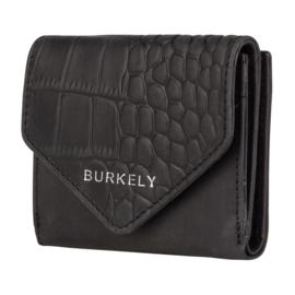 Burkely Wallet Croco Cody S Black