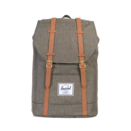 "Herschel Rugtas Retreat 15"" Canteen Crosshatch/Tan"