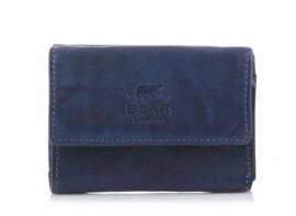 Bear Design Portemonnee Small Blauw