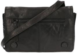 LD Leather Design Schoudertas S Zwart
