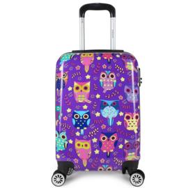 Decent Forenza Handbagage Koffer 55 cm Owls