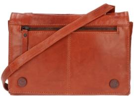 LD Leather Design Schoudertas Cognac