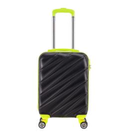 Decent Lumi-Fix Handbagage Koffer 55cm Black/Lime