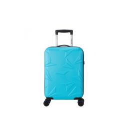 Decent  ABS Spinner Handbagage  Q-Luxx Blauw