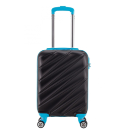 Decent Lumi-Fix Handbagage Koffer 55cm Black/Blue