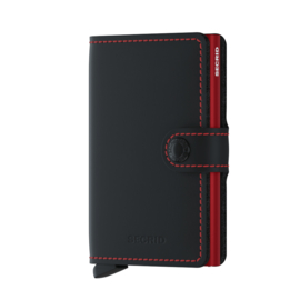 Secrid Miniwallet Matte Black&Red