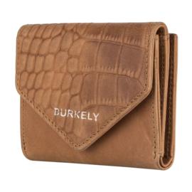 Burkely Wallet Croco Cody S Cognac