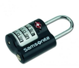 Samsonite Triple Combination Lock TSA