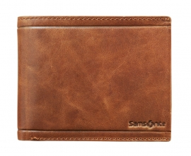 Samsonite Billfold  7cc  Cognac met RFID