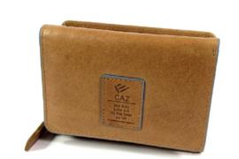 Gaz Portemonnee 7cc RFID Cognac