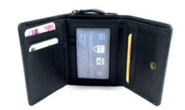Gaz Portemonnee 7cc RFID Zwart