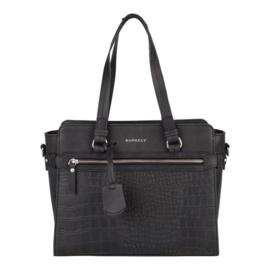 Burkely Croco Cody Handbag S Black