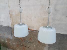 Witte Art Deco Hanglampen