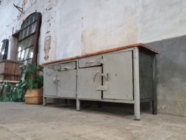 Industriële Stalen Grijze Werkbank V