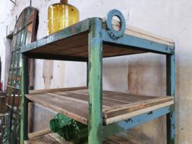 Groene Stalen Stellingkast