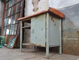 Industriële Kleine Werkbank | Grijs S2