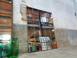XL Industriële Spiegel R192x150