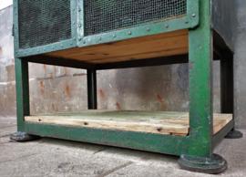 Industriëel Stalen Dressoir | Groen