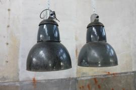 Zwarte Industriële Fabriekslamp XXL